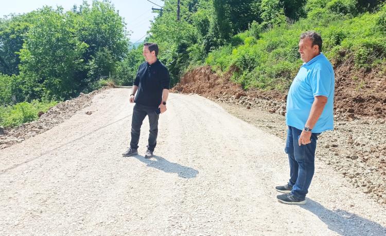 Ολοκληρώθηκε η αποκατάσταση του δρόμου στους «Mύλους», με την συνδρομή της Π.Ε. Ημαθίας