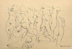 Παρατείνεται η έκθεση με έργα του Γ. Μπαδόλα στην Δημοτική Βιβλιοθήκη Νάουσας