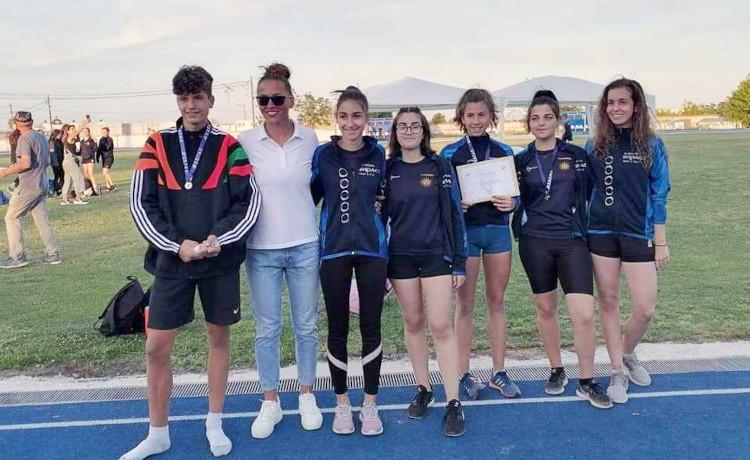 Τέσσερα μετάλλια και καλές εμφανίσεις από τους αθλητές του ΓΑΣ Αλεξάνδρεια στο Διασυλλογικό Πρωτάθλημα Στίβου Κ16