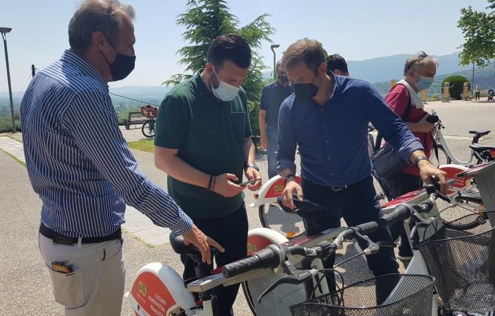 """Veria bikes"" app και κοινόχρηστα ποδήλατα στη διάθεση του κοινού"