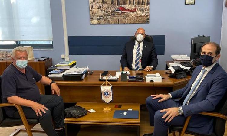 Συνάντηση Βεσυρόπουλου – Γκυρίνη με τον πρόεδρο του ΕΚΑΒ