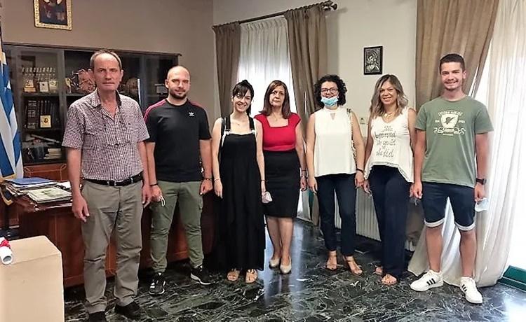 Ο Δήμος Αλεξάνδρειας τίμησε τους καθηγητές του Κοινωνικού Φροντιστηρίου