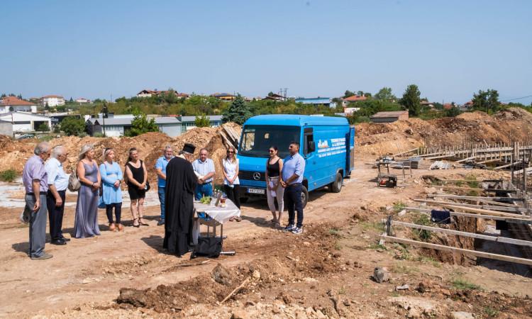 Αγιασμός για την έναρξη εργασιών της κατασκευής του νέου ΚΔΗΦ ΑμΕΑ στην Πατρίδα