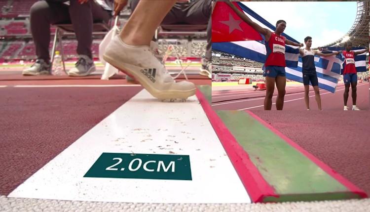 """Χρυσός στο άλμα εις μήκος ο Τεντόγλου – """"πτήση"""" στα 8,41 μέτρα"""